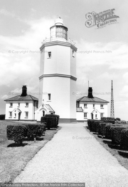 Photo of Broadstairs, North Foreland Lighthouse c1965