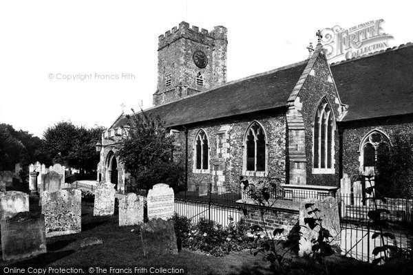 Broadstairs, St Peter's Church 1912