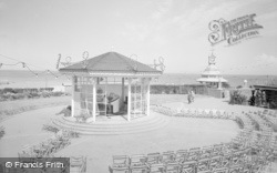 Broadstairs, The Bandstand And Clock Tower 1962