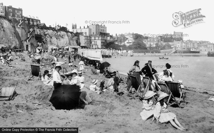 Broadstairs, The Beach 1907