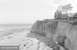 Broadstairs, The Beach From The Cliffs 1962