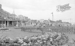 Broadstairs, The Cliff Gardens 1951