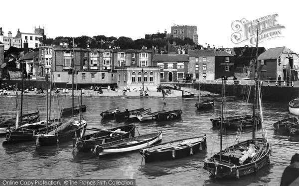 Broadstairs, The Harbour 1912