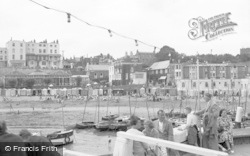 Broadstairs, The Harbour 1951