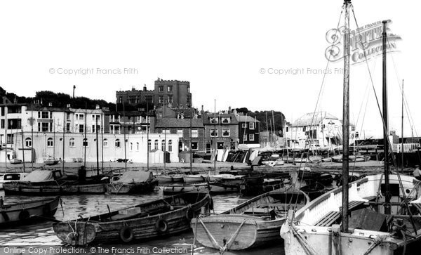 Broadstairs, The Harbour 1962