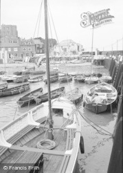 Broadstairs, The Harbour c.1962