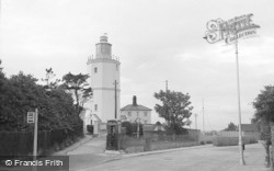 Broadstairs, The Lighthouse, North Foreland 1951