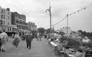 Broadstairs, The Promenade 1951