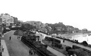 Broadstairs, The Promenade And The Gardens 1918
