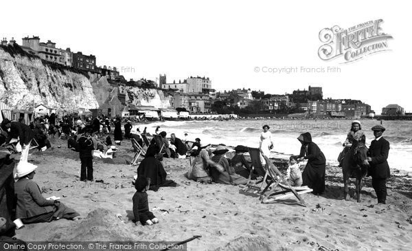 Broadstairs, The Sands 1912