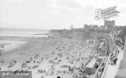 Broadstairs, View From Cliff Top 1962