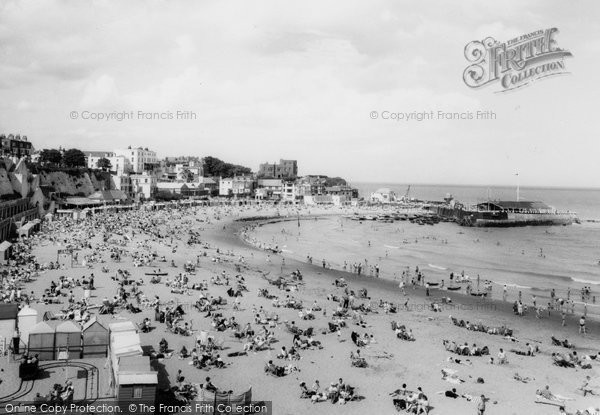Broadstairs, View From The Cliffe 1962