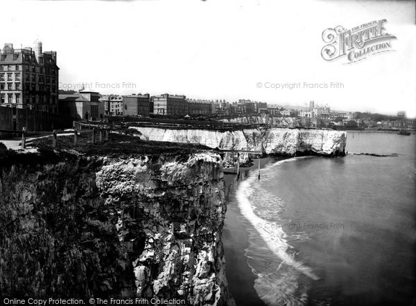 Broadstairs, View From The Cliffs 1887