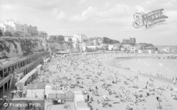 Broadstairs, View From The Cliffs 1962