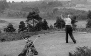 Broadstone, A Golfer At The 14th c.1960