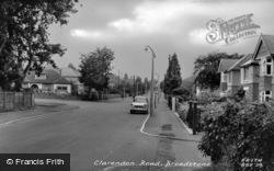 Clarendon Road c.1960, Broadstone