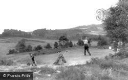 Broadstone, Golf Course, the 14th Hole c1960