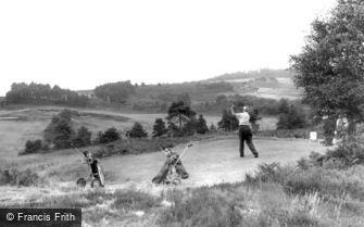 Broadstone, Golf Course, the 14th Hole c1960