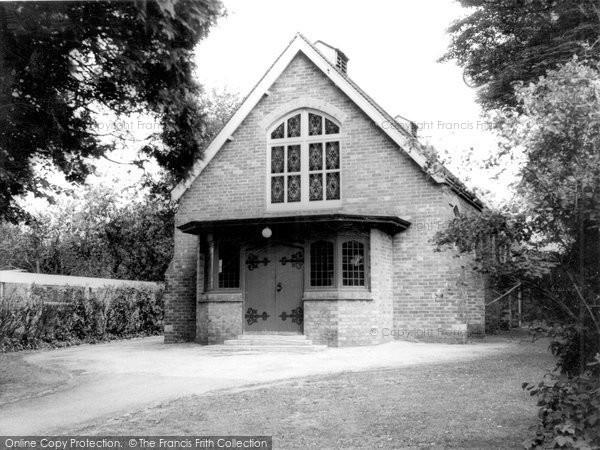 Broadstone, Methodist Church c.1960
