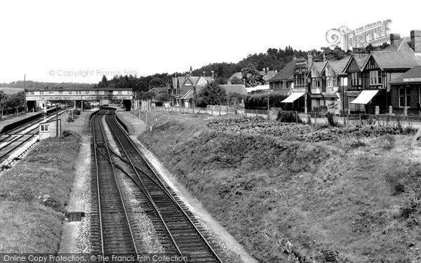 Broadstone, Station Approach c.1955