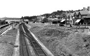 Broadstone, Station Approach c.1955