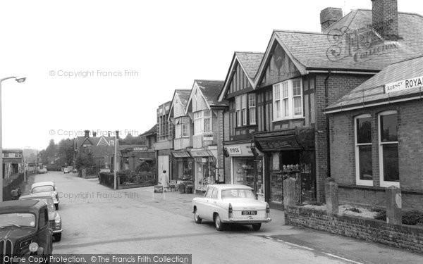 Broadstone, Station Road c.1960