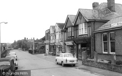 Broadstone, Station Road c.1960
