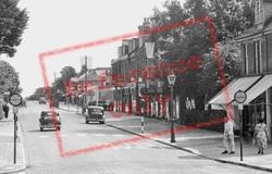 The Broadway c.1955, Broadstone