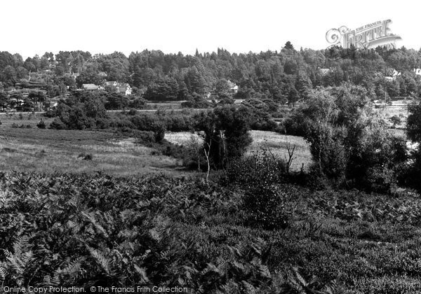 Broadstone, The Moors c.1955
