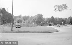 Broadwater, Broadwater Roundabout 1963