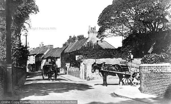 Broadwater, Broadwater Street East And Forest Road 1914