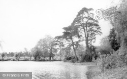 Broadwater, Brooklands Park Lake 1965