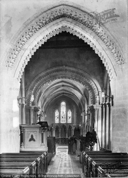 Broadwater, Church Interior 1919