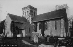 Broadwater, St Mary's Parish Church 1895