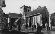 Broadwater, St Mary's Parish Church 1906