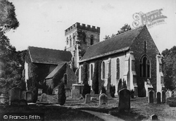 Broadwater, St Mary's Parish Church 1906