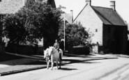 Broadway, High Street, Pony Rider c.1955