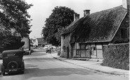 Broadway, Old Cottages c.1955
