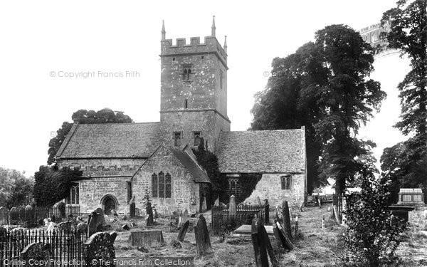 Photo of Broadway, St Eadburgha's Church 1899