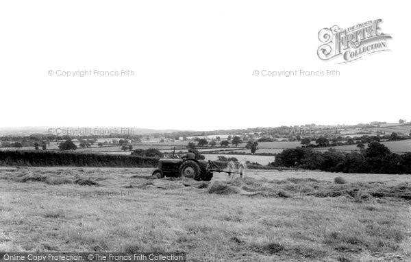 Broadway, The Hills, Turning The Hay  c.1965