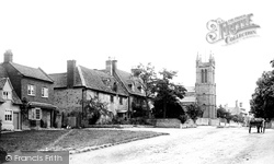Broadway, The Village And Church Of St Michael And All Angels 1899