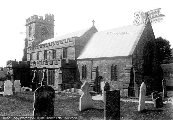 Broadwindsor, Church Of St John The Baptist 1902