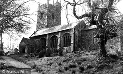 St Nicholas' Church c.1950, Broadwoodwidger