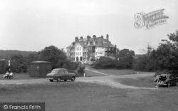Brockenhurst, Balmer Lawn Hotel 1960