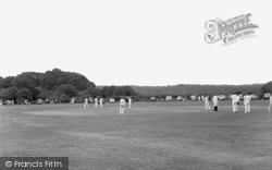 Brockenhurst, Cricket At Balmer Lawn 1960