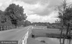 Brockenhurst, The River 1954
