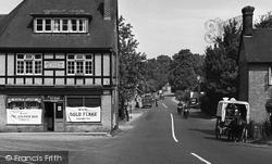 Brockenhurst, Village Shop And Delivery Cart 1949
