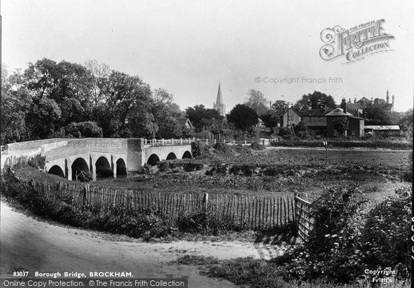 Brockham, Borough Bridge 1930