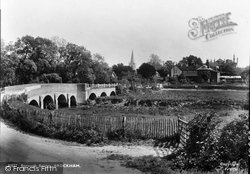Brockham, Borough Bridge 1930