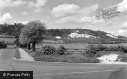 Brockham, Brockham Lane 1958